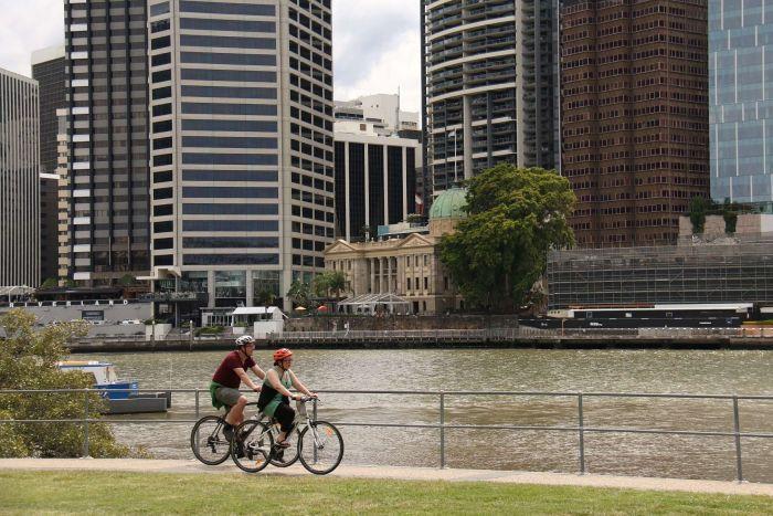 澳洲布里斯班旅游攻略布里斯班河畔Brisbane City River