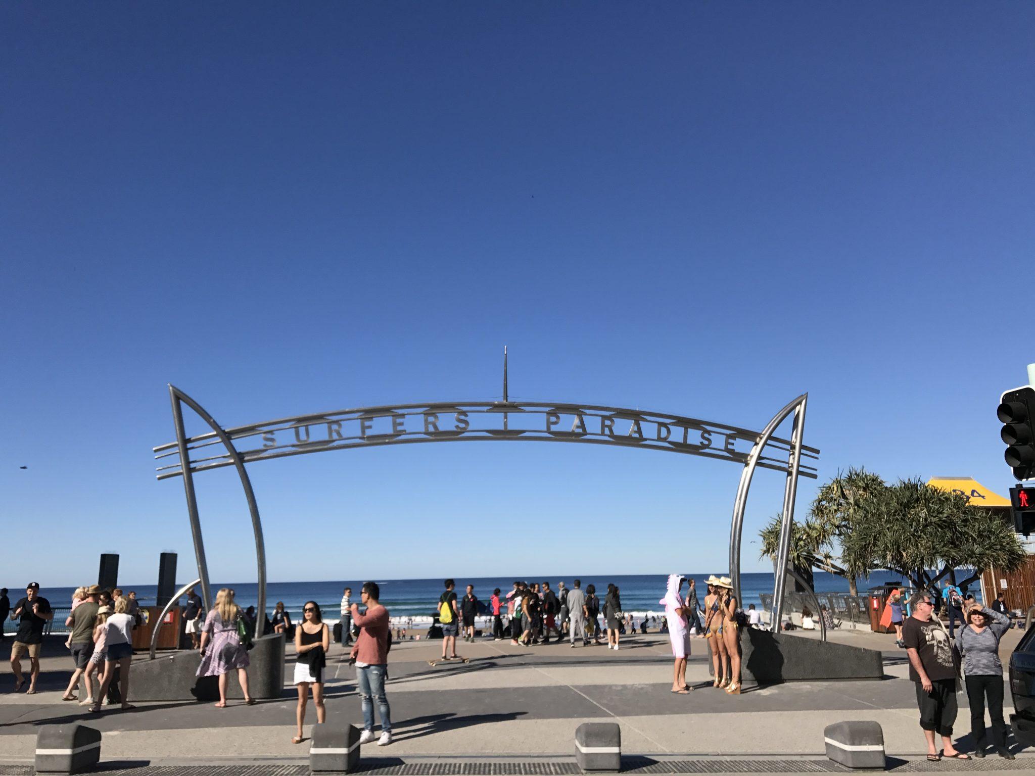 澳洲昆士兰自由行攻略黄金海岸冲浪者天堂