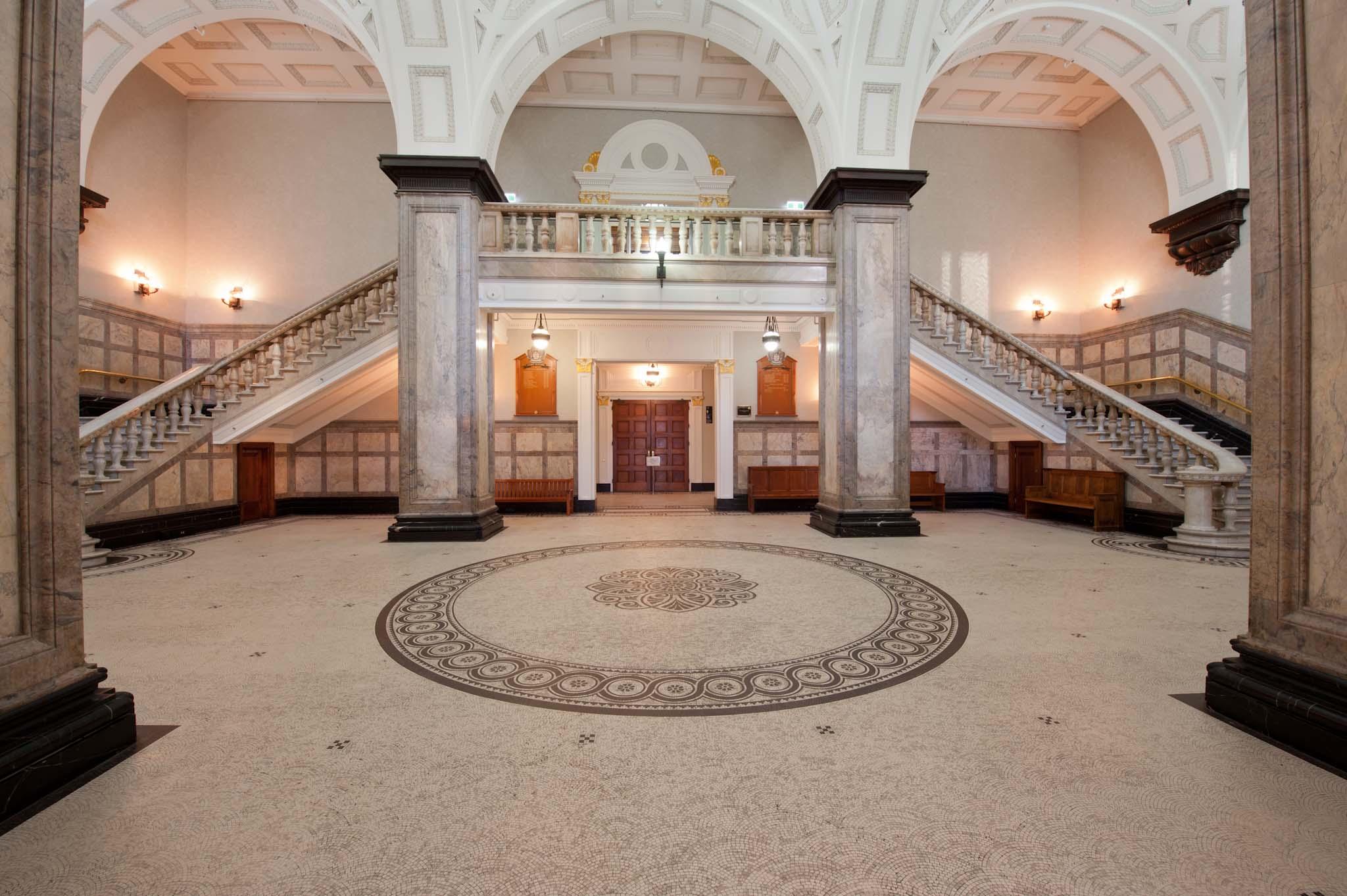 Brisbane City Town Hall 布里斯班市政厅大厅澳洲布里斯班旅游攻略