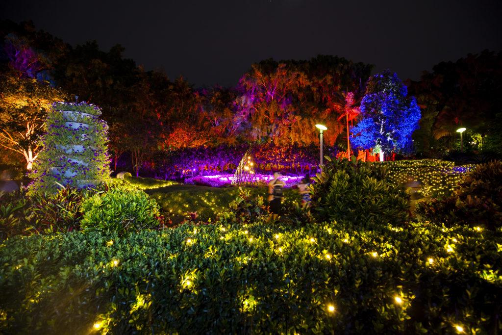 澳洲布里斯班圣诞梦幻公园