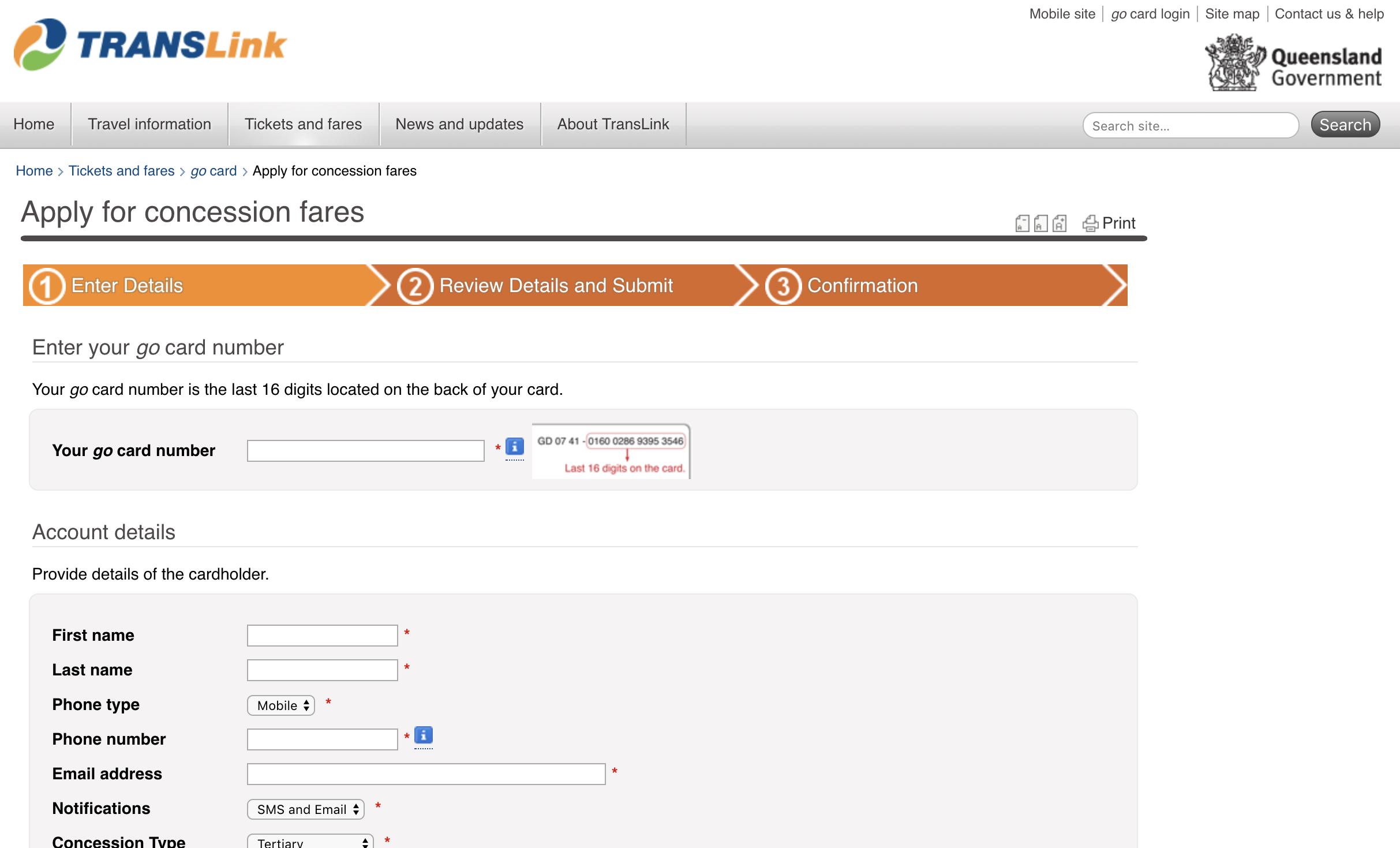 如何申请澳洲昆士兰州学生交通优惠折扣(Translink Concession)