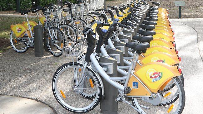 澳洲留学脚踏车租Brisbane City Cycle