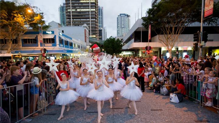 澳洲布里斯班圣诞街头游行2