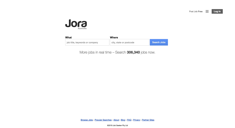 JORA学生找工作