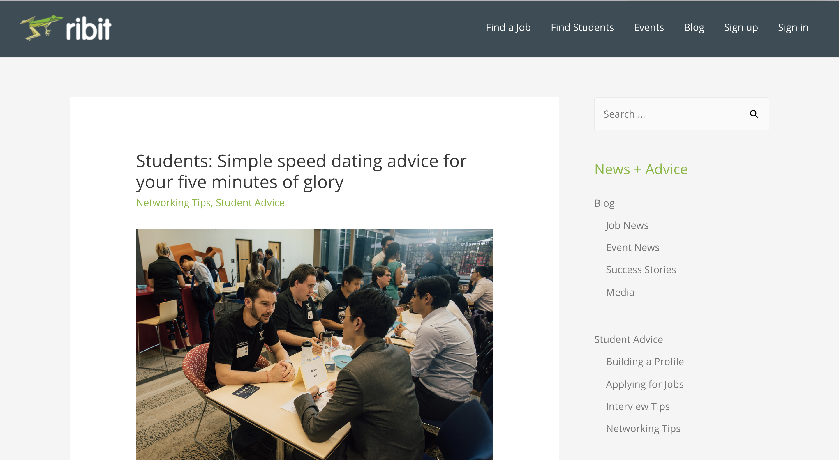 Ribit Speed Dating