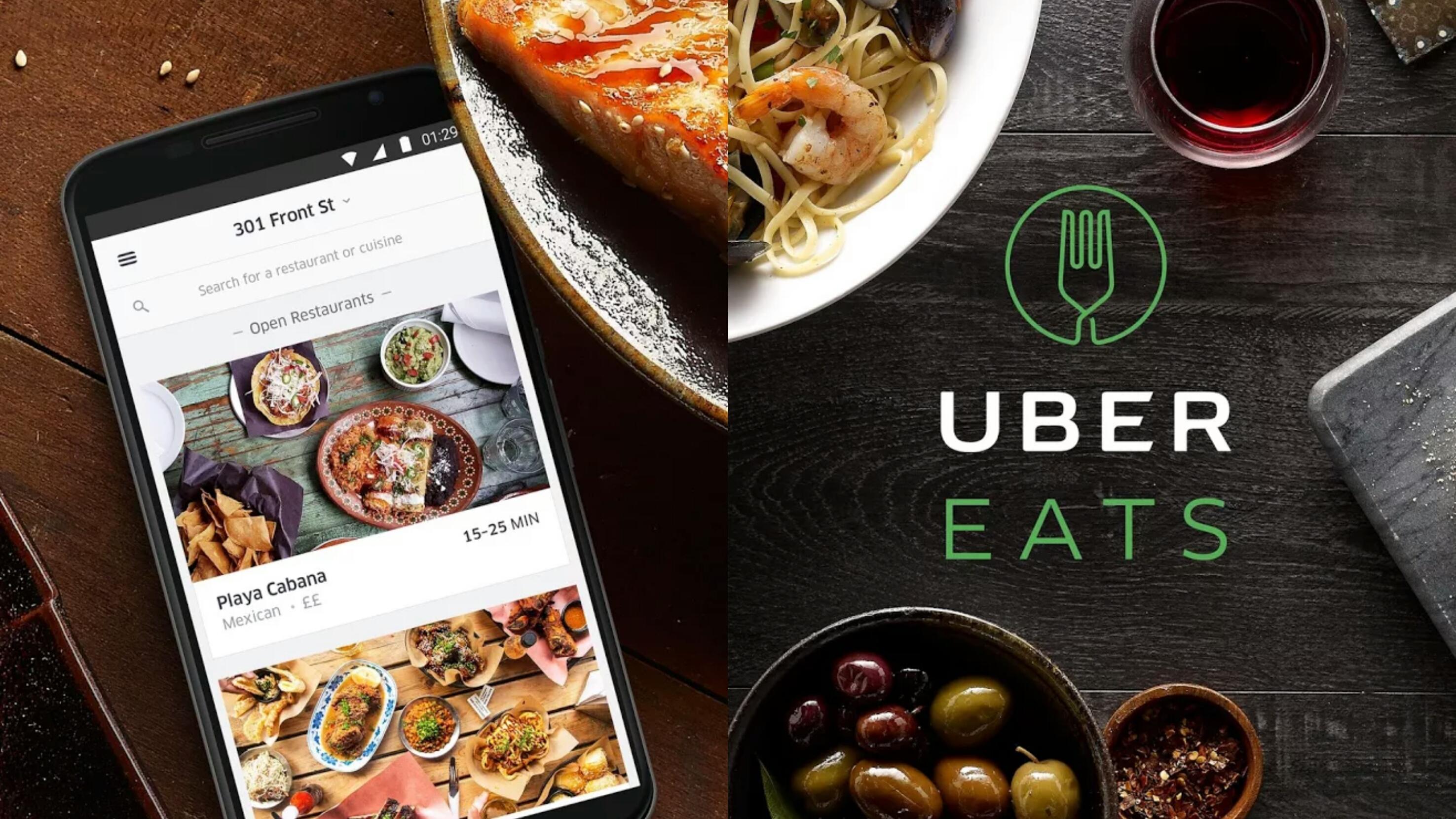 澳洲留学必备App-Uber Eats