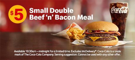 麦当劳折扣 麦当劳牛肉汉堡