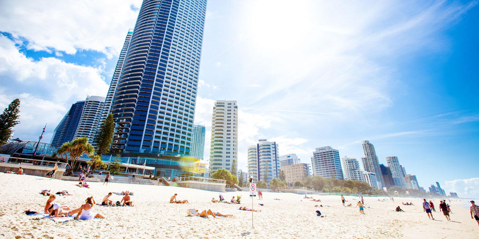 昆士兰景点-黄金海岸
