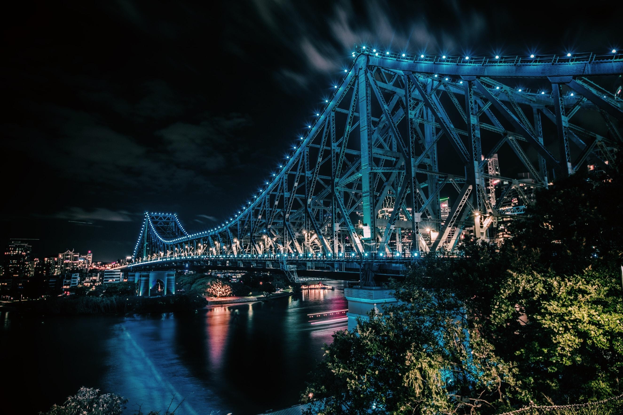 昆士兰景点-布里斯班故事桥