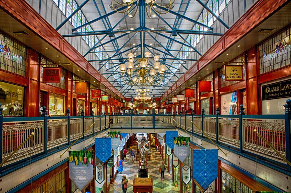 昆士兰景点- Brisbane Arcade