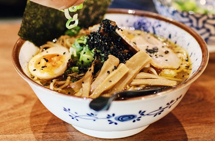 太郎拉面(Taro's Ramen)素食拉面