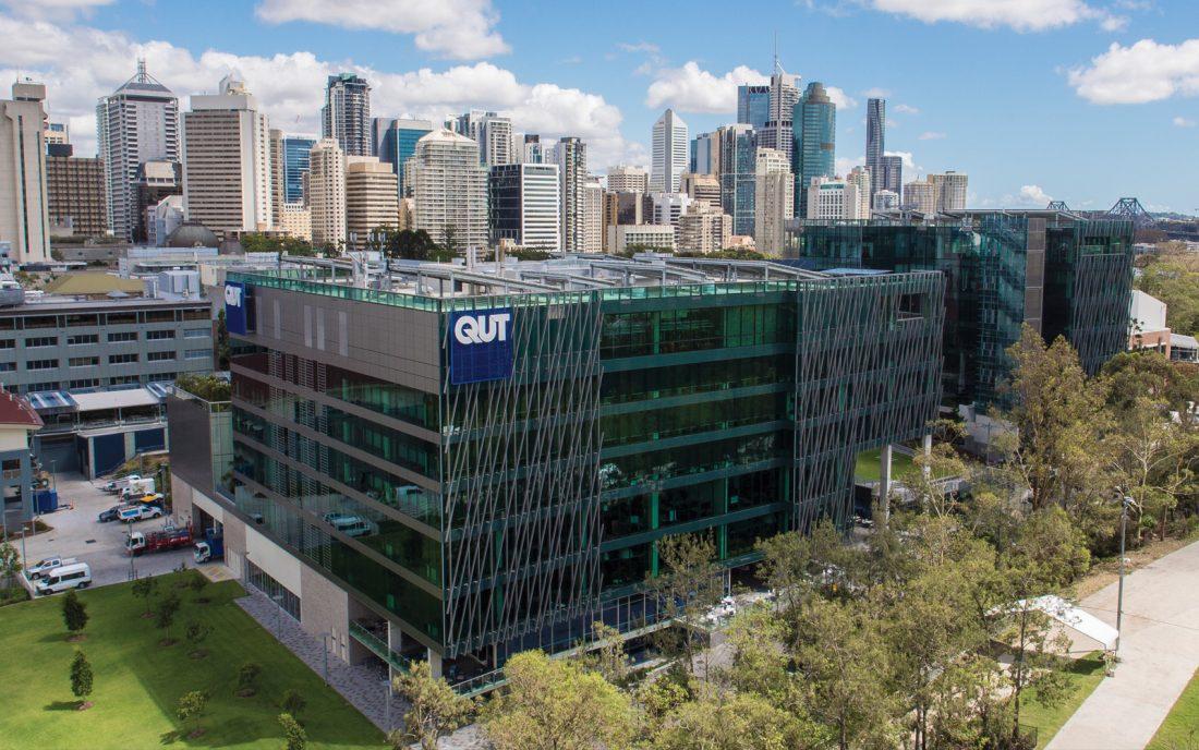 QUT 昆士兰科技大学新冠状病毒