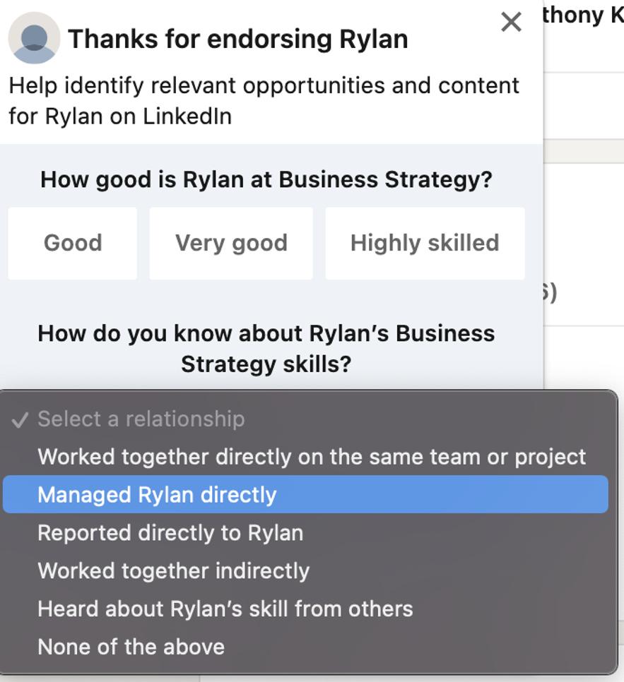 LinkedIn Profile 建立